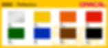 Цветовая раскладка oracal 5500 серии