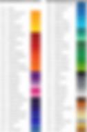 Цветовая раскладка oracal 641 серии.