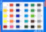 Цветовая раскладка oracal 451 серии