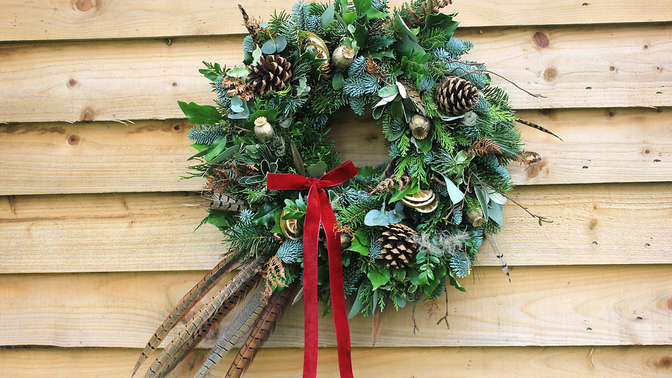 Luxury Pheasant Wreath