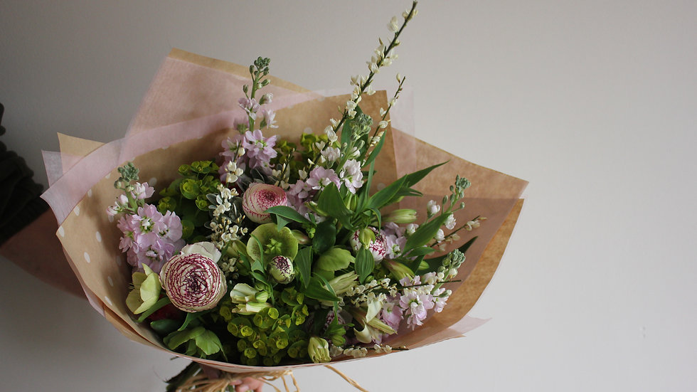 Seasonal Spring Hand Tied Bouquet