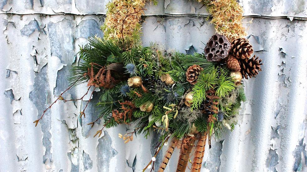 Asymmetrical Wreath