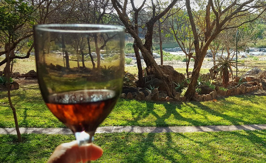 Cheers... with a view!