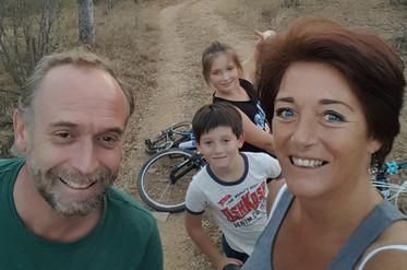 Cycling at Ndlovumzi
