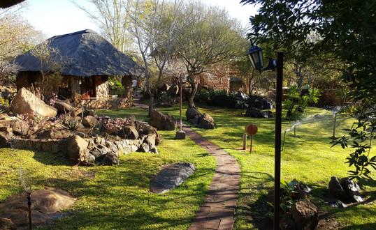 Enjoy our lovely garden