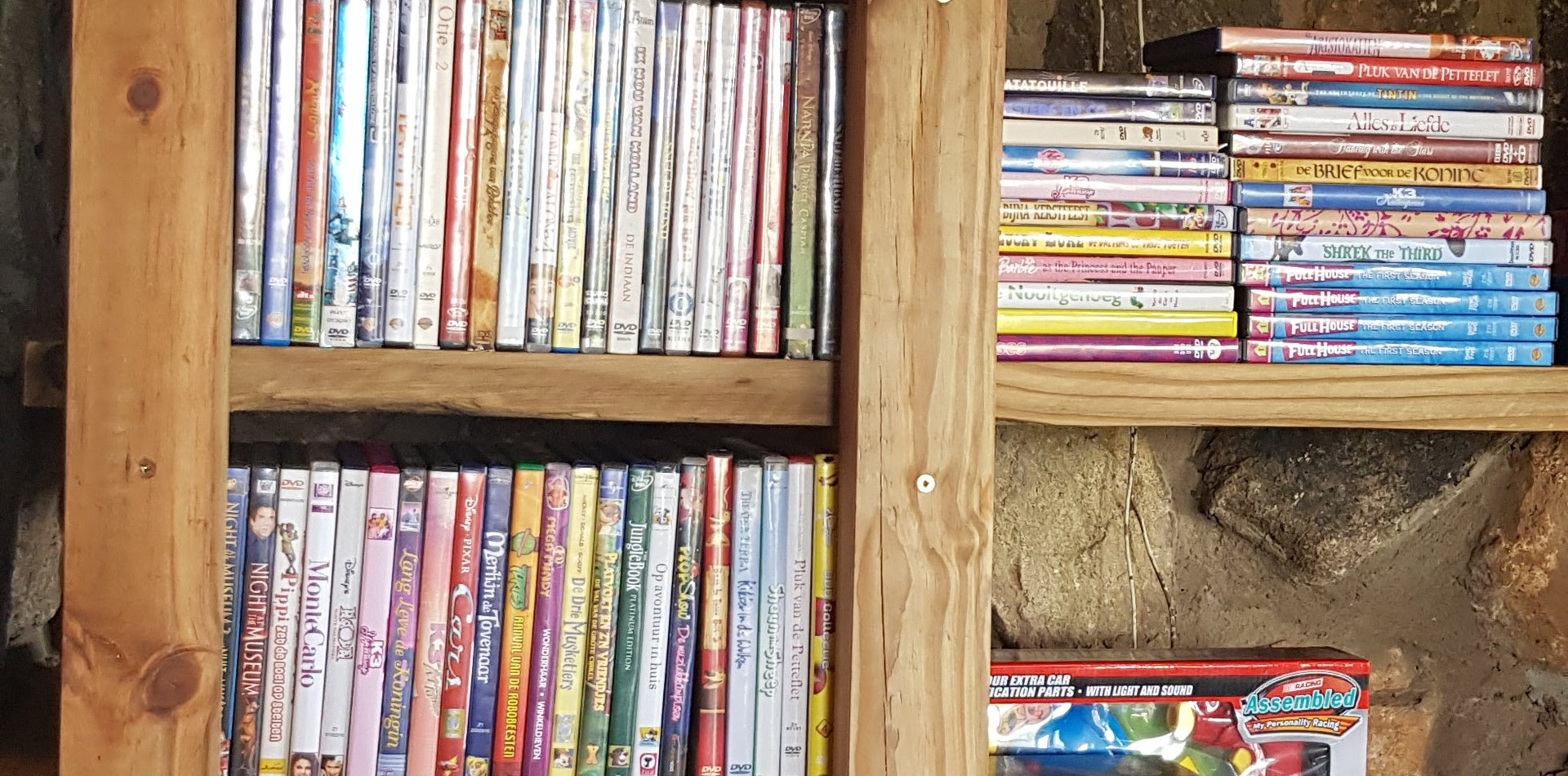 Dvd selection for kids