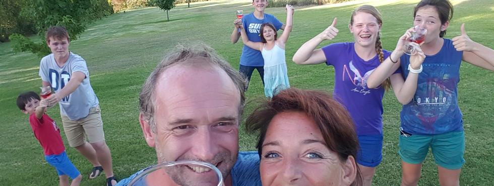 Cheers, from Stellenbosch