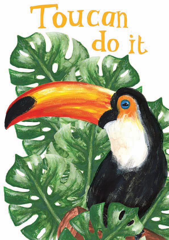Toucan Do It Ilustration
