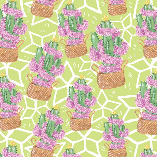 Tropical Christmas Collection 2019: Festive Cactus