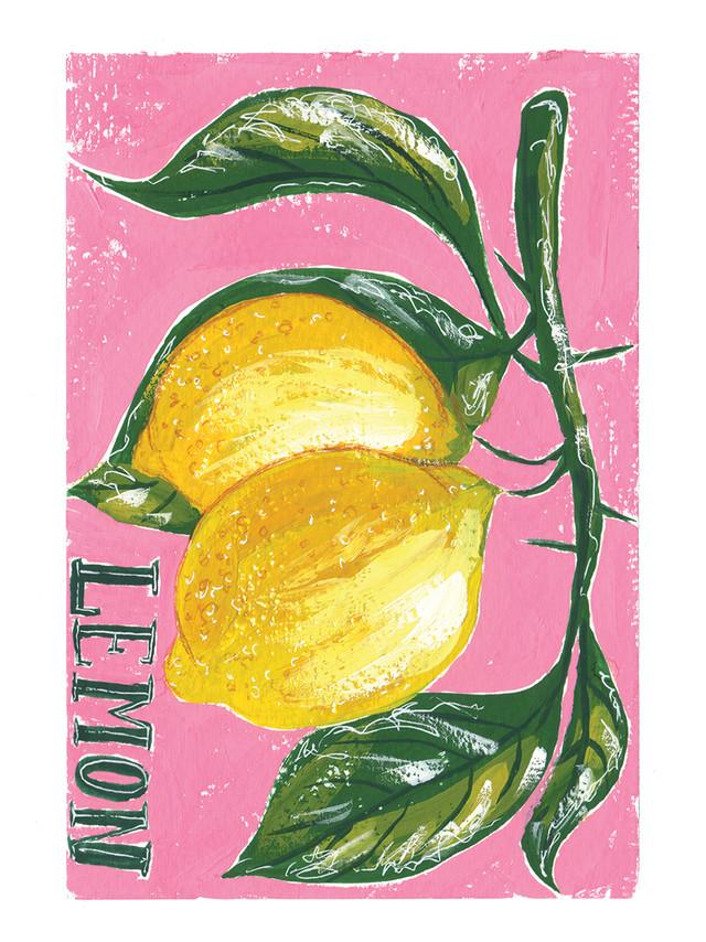 Gouache Lemons