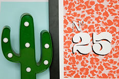 Personalised pink Leopard print House Number Print, new home, house warming gift by sam bull