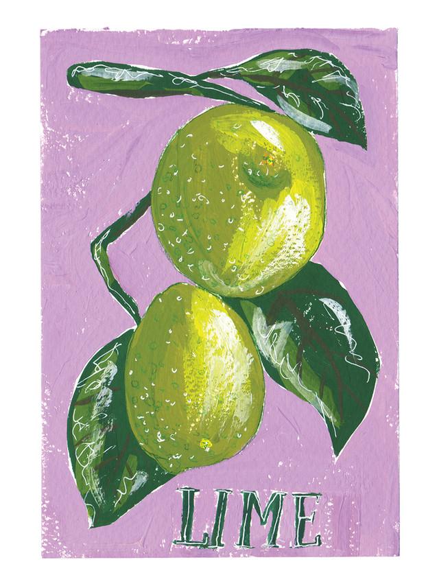 Gouache Limes