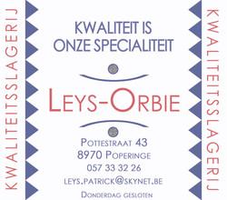 Kwaliteitslagerij Leys-Orbie