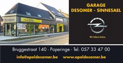 Garage Desomer Sinnesael logo