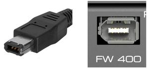 Firewire audio cable