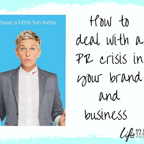 Dear Ellen – here's how I would handle your current PR crisis –from a former TV publicist