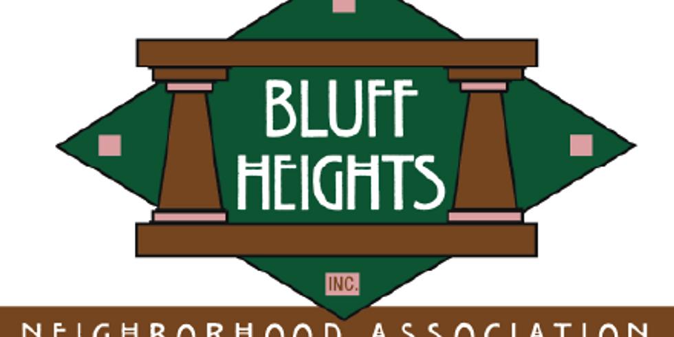 Bluff Heights Neighborhood Association (BHNA) Zoom Forum