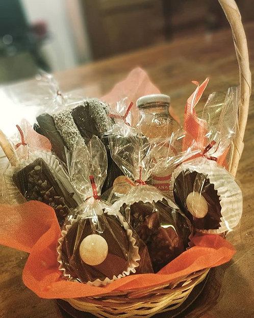 Detalle a domicilio Locura de Chocolate