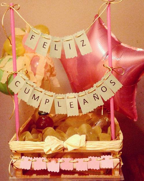 Banderín Feliz cumpleaños