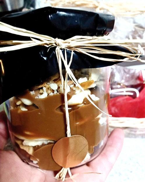 Torta en frasco Hojarasca Manjar
