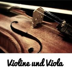 Violine und Viola