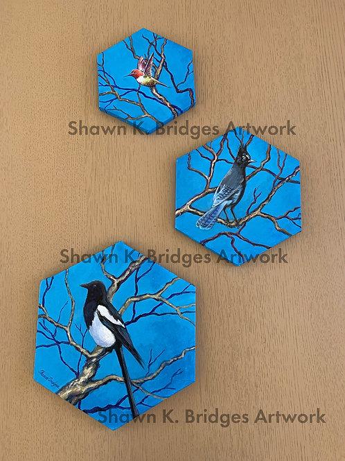 Hexagon Birds