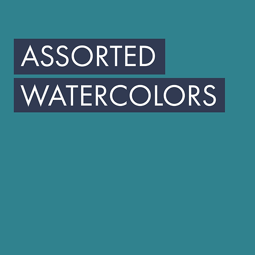 Assorted Watercolors