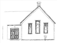 Sketch of Francisco Center for the Performing Arts