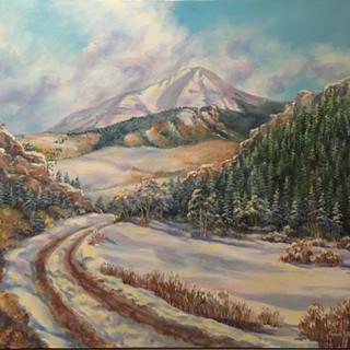 Gap in Winter