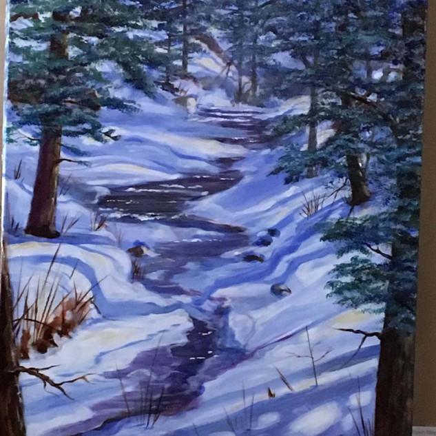 Frozen River 24X30 $1500.jpg