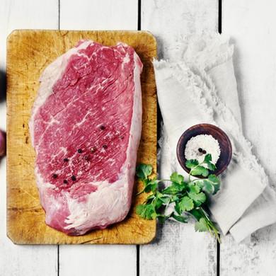 Filete de carne cruda