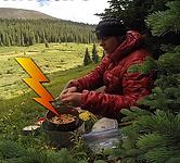 CookieMonster is preparing a dinner called Hot Lightning