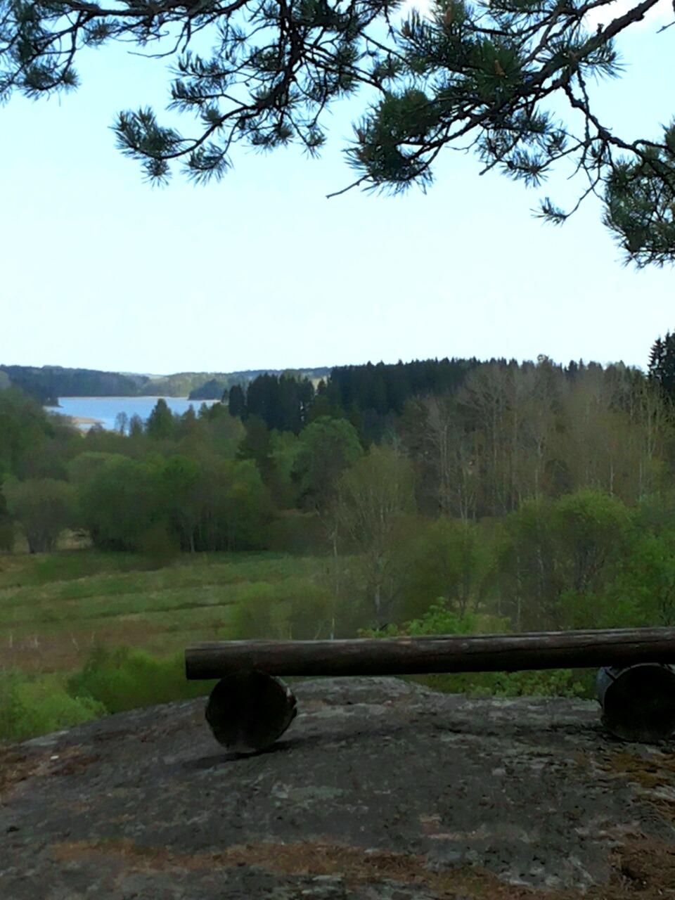 Вид на Ладогу Асилан