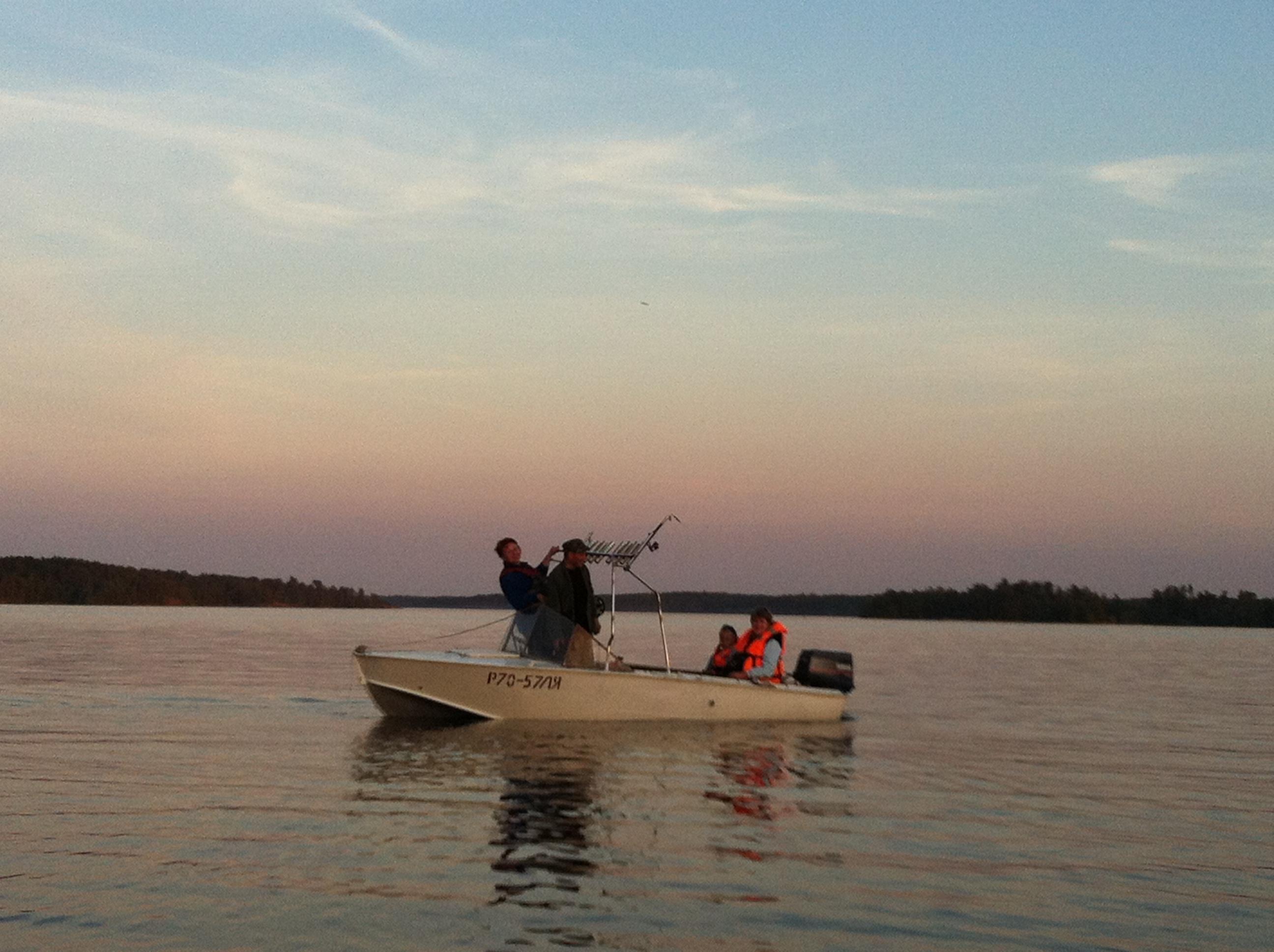Рыбалка на Ладоге Асилан