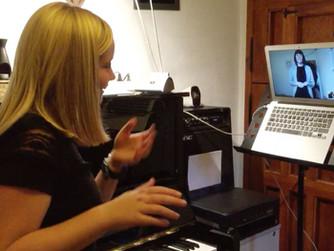 שיעור דרך המחשב עם תוכנת Zoom