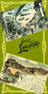 GRUSS AUS LANGENTHAL - Historische Postkarten