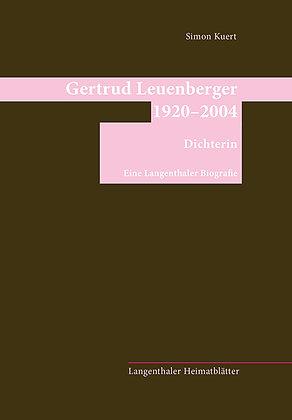 Gertrud Leuenberger 1920-2004