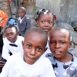 Kids after church
