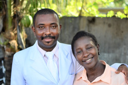 Edner and his wife Christila