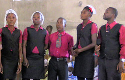Singers at Ennery