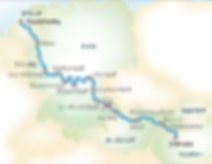 ヨーロッパ・リバークルーズ  アムステルダム~ブダペスト (または逆コース) 14泊15日クルーズ