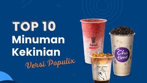 10 Brand Minuman kekinian yang Paling Digemari Masyarakat