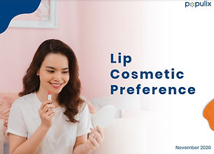 Ketahui produk kosmetik bibir apa yang paling diminati wanita di kota-kota besar di Indonesia!