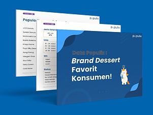 44% konsumen menyukai hidangan manis atau dessert untuk meningkatkan mood mereka. Simak data menarik lainnya mengenai popularitas brand dessert di Indonesia!