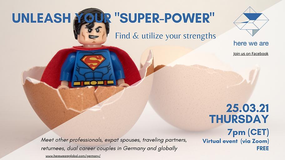 Unleash zour superpower 25.03.21 horizon