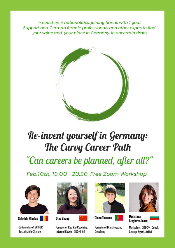 Feb.10th REinvent yourself curvy career