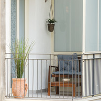 balcone della camera doppia