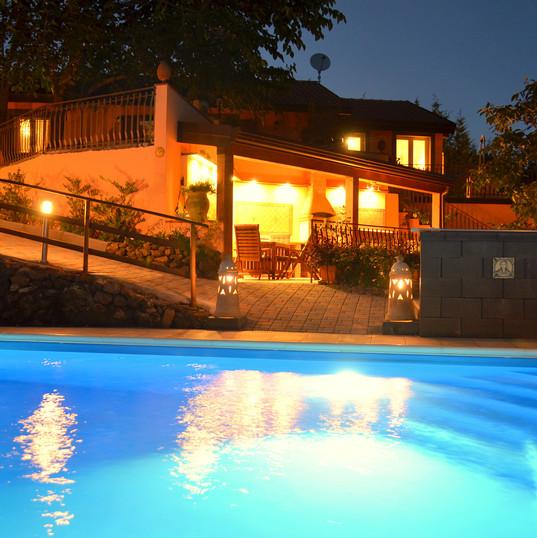 piscina e grill