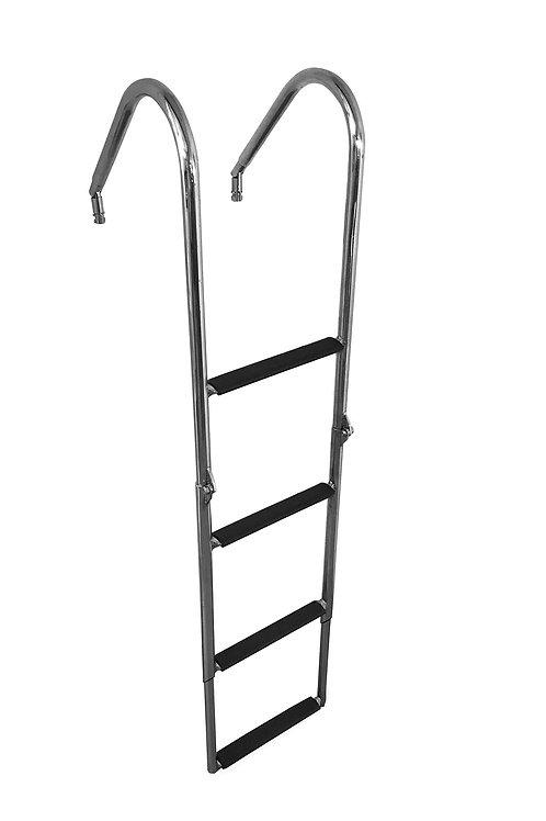 Escada Aço Inox Retrátil