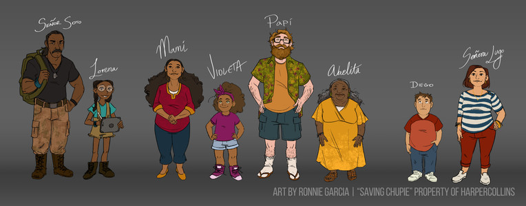 Saving Chupie - Main Cast